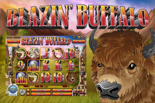 Blazin Buffalo Online Slot Machine