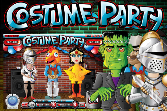 Costume Party 3-Reel Slot
