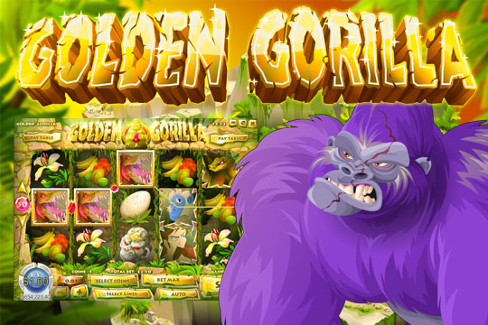 Golden Gorilla Slot Machine