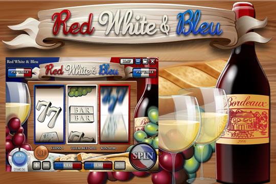 Red White and Bleu 3-Reel Slot