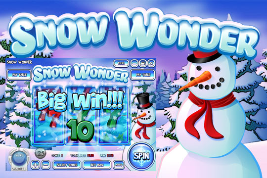 Snow Wonder Slot Machine