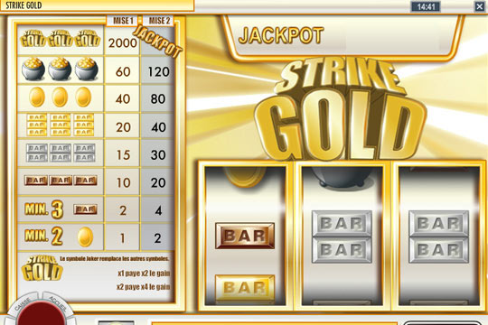 Strike Gold Progressive Pokies