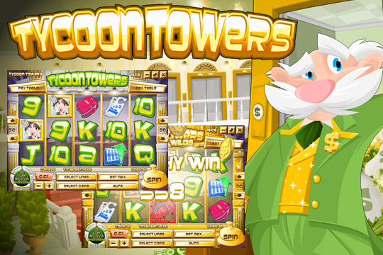 Tycoon Towers 20-Line Video Slot