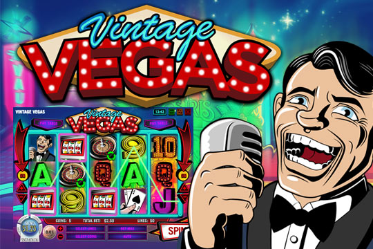 Vintage Vegas Slot Machine