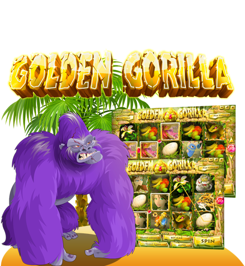 Golden Gorrila 50-Line Video Slot